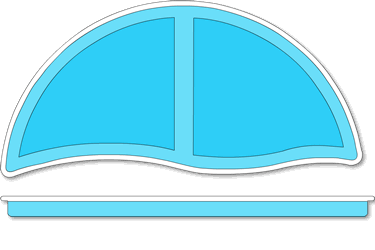Laguna Fiberglass Pool Tanning Ledge