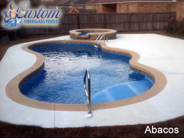 Abacos Custom Fiberglass Pools And Spas
