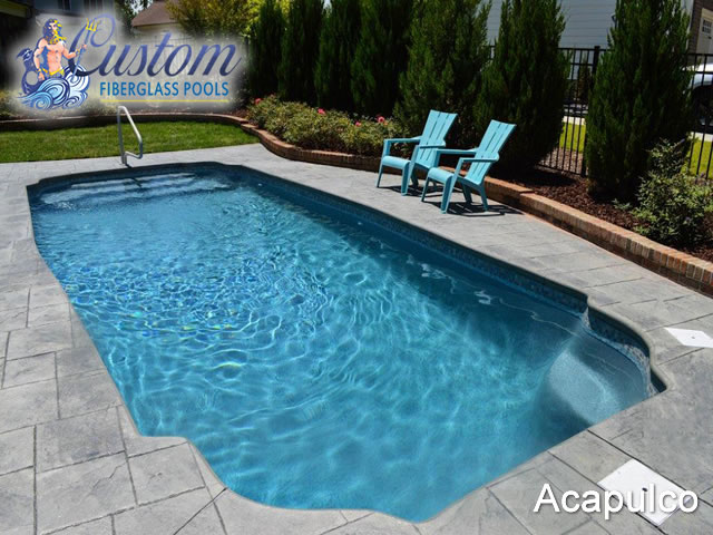 Acapulco Grecian Fiberglass Pools And Spas