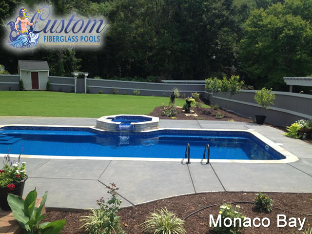 Monaco Bay Custom Fiberglass Pools And Spas