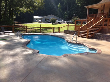 Fiberglass Pools for Montgomery Alabama