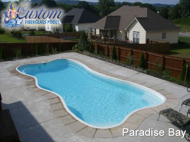 Paradise Bay Lagoon Fiberglass Pools And Spas