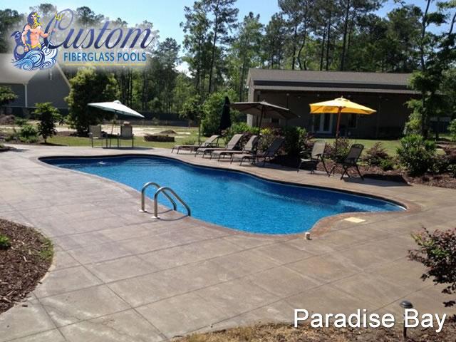 Paradise Bay Lagoon Fiberglass Pools And Spas