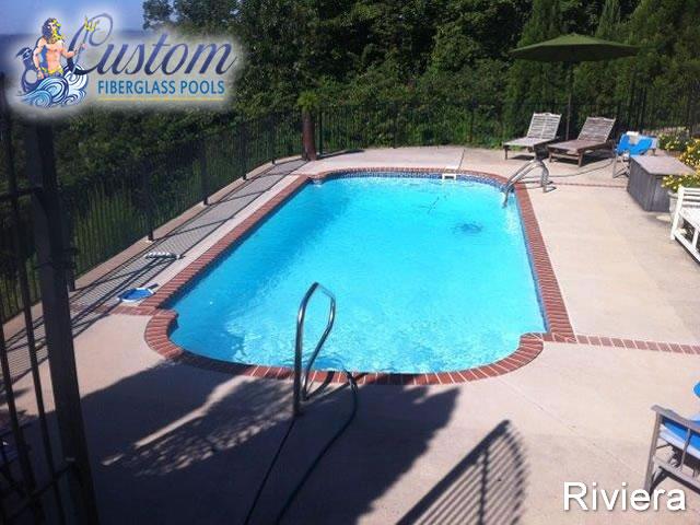 Riviera roman fiberglass pools and spas - Riviera fiberglass pools ...