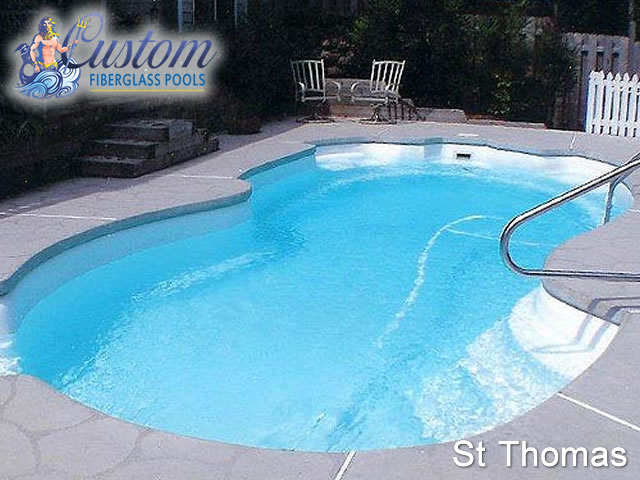 St Thomas Freeform Fiberglass Pools And Spas