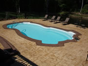 St. Thomas Fiberglass Pool