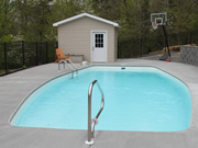 Sunset Cay Fiberglass Pool